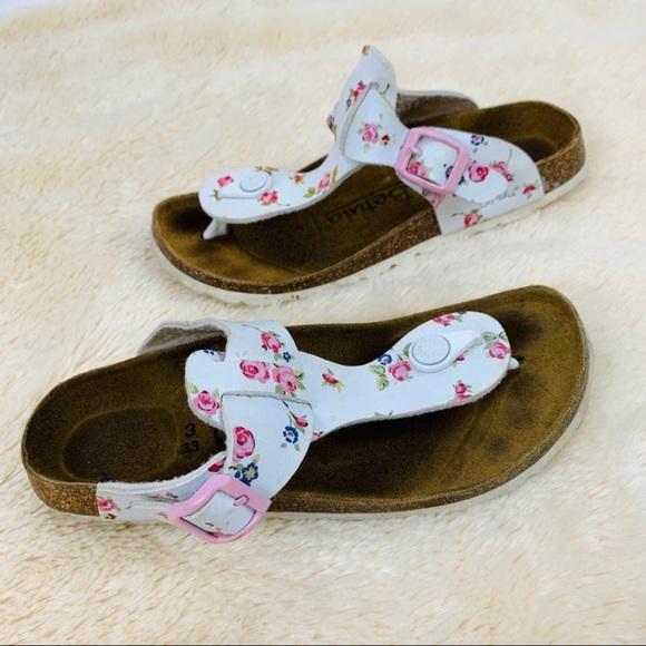 Kids Floral Betula Birkenstock Sandals Size 2 33